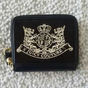 Juicy Couture Logo Black small wallet